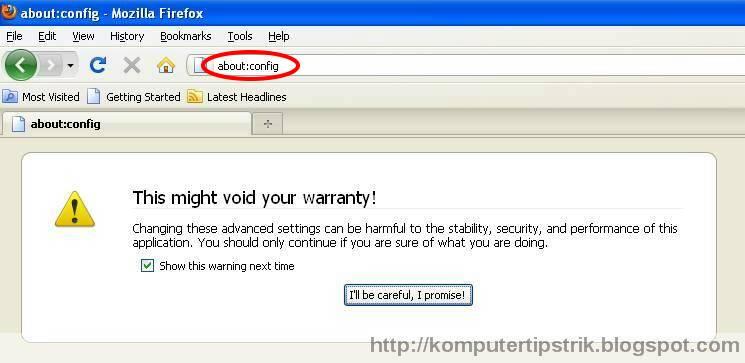 Mengembalikan Search Engine Mozilla Firefox ke Google (1/3)